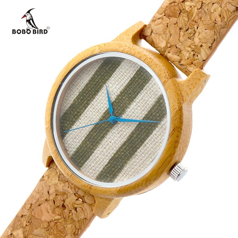 2017 BOBO BIRD TOP Brand Watches Bamboo Casual Quartz Watch Women Wooden Wristwatch Relogio Feminino C-A29 2017 new design bobo bird luxury brand women wood watches bamboo quartz wooden watch relogio feminino c d21