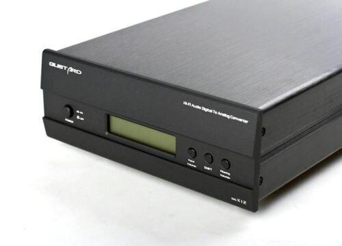 GUSTARD DAC-X12 DAC ES9018 OPTIC/Coaxial/XMOS USB Asynchronous 384KHZ DSD64/128