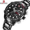 New NAVIFORCE Men Watches Top Brand Luxury Full Steel Quartz Men S Watch Men Fashion Sport