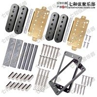 Magnets electric guitar humbuckers making accessories with black pickup cover