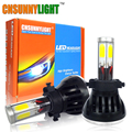 CNSUNNYLIGHT 80W 8000LM Cob LED 5202 White High Power Fog Light Bulb H16 PSX24 Replacement For Xenon Hid Headlight Kit DC 12V