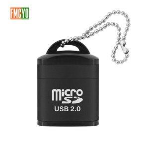 Image 1 - Mini Micro carte SD téléphone portable haute vitesse TF lecteur de carte mémoire ordinateur voiture haut parleur lecteur de carte