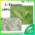 100% Natural Extracto de Té Verde Calidad Teanina L-teanina cápsula 500 mg * 100 unids