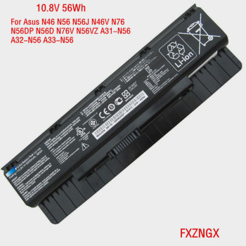 10.8V 56WH Genuine  A32-N56 Battery for ASUS N76V N76VM N76VJ N46V N56VZ N56D N56DP G56 G56J G56JR Serie A31-N56 A33-N56