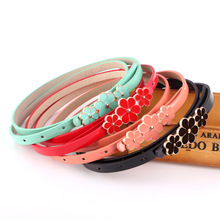 Women Belt Imitation Leather Pin Buckle Serpentine Slender Fashion Wild Individual Dresses Decoration ladies Belts
