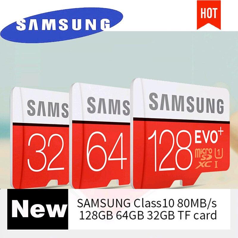 Samsung Micro Sd Card 128gb 256gb Memory Card Evo Plus 64gb 16gb 64g