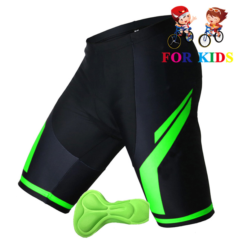 2019 new Kids Cycling Padded Shorts Children Youth Bicycle Bike Short GEL Padded Tights Short Pants High Quality Shorts