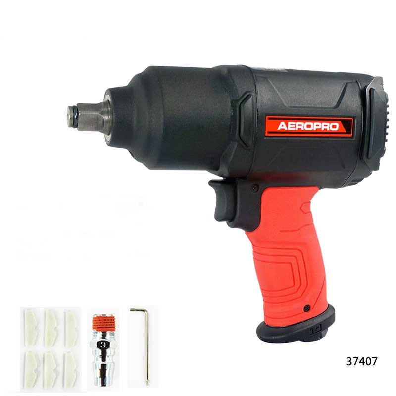 Pneumatic Impact Wrench 1/2 Pneumatic Gun Air Pressure Wrench Tool Torque 650ft-lb 1 2 pneumatic wrench small wind gun large torque industrial grade wind gun tools