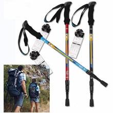 1pcs Super Light Straight Handle Carbon Fiber Walking Stick CANE Telescopic Hiking Nordic Trekking Poles