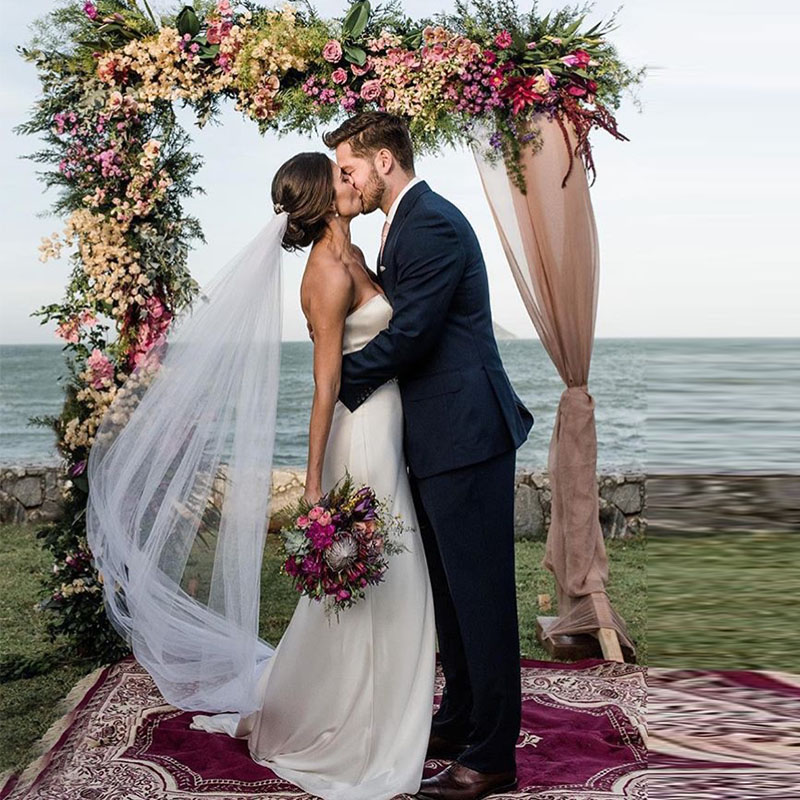 Sheath Wedding Dresses 2019: Sheath Simple Soft Satin Wedding Dresses 2019 Diamonds