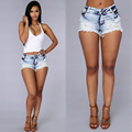 summer women shorts casual 2016 skinny low fashion regular short femme denim shorts pantalones cortos mujer
