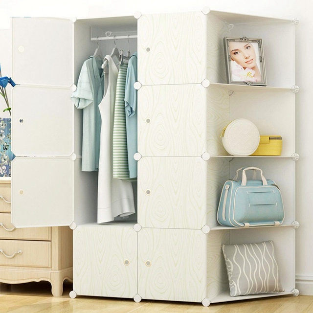 High Quality Modern Simple Wardrobe Portable Cabinet ...