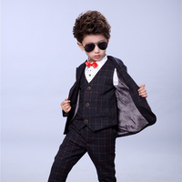 Boys Blazer Suits for Weddings Kids Cotton Long Sleeve Formal Suit Children Costume for Marriage Party Toddler Blazer Sets