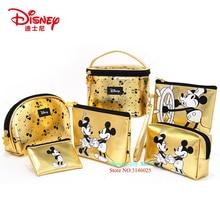 Genuine Disney Mickey Mouse Multi-function Women Bag Wallet Purse Baby Care Bag Fashion Mummy Bag Girls Gift Disney Hot Sale Set