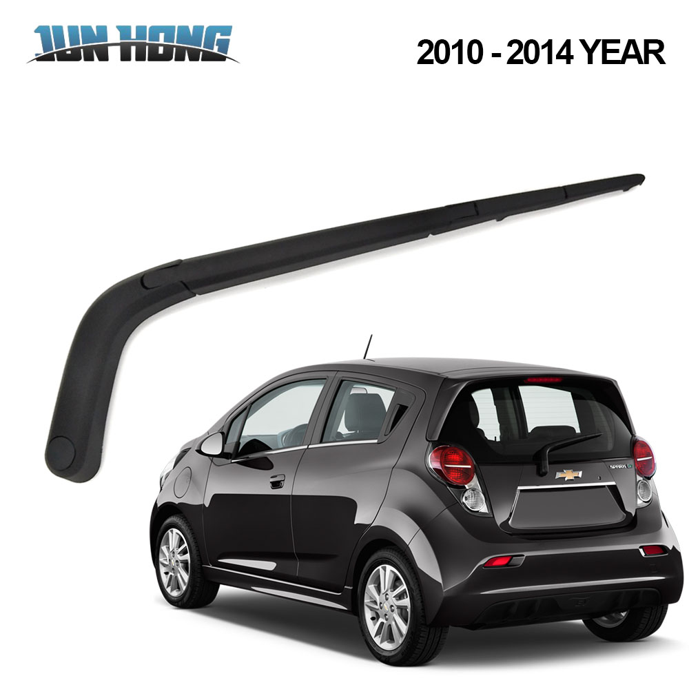 Junhong Rear Wiper Blade And Arm For Chevrolet Spark 2010 2011 2012 2013 2014 Windscreen Rubber Car Accessories Rear Window To Clear Out Annoyance And Quench Thirst Glasses & Windows Auto Replacement Parts