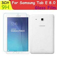 10pcs/lot wholesale For Samsung Galaxy Tab E 8.0 Tempered Glass Screen Protector Protective Film For TabE 8 T377 T377A T377P