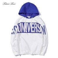 Hoodies 2018 Autumn New Hooded Sweatshirts Men Baseball Uniform Letter Long Sleeve Hoodies Hiphop Streetwear Youth Cloth WY011
