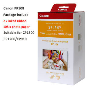 Photo-Paper Ink-Cartridge CP1200 RP108 Canon for Rp108/Kp108in/Kl36/..