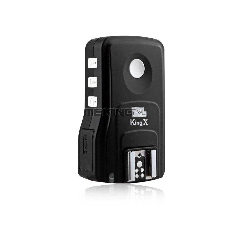 Pixel King Pro E-TTL Mark II Wireless Flash Trigger Receiver high Sync speeds 1/8000s for Canon 450D 500D 550D 600D 40D 50D 60D nissin di600 фотовспышка для canon e ttl e ttl ii