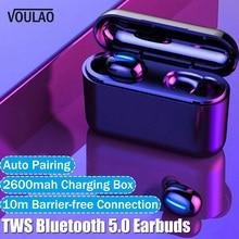 Bluetooth Earphone HBQ Q32 TWS Wireless Headphone Bluetooth V5.0 LED D