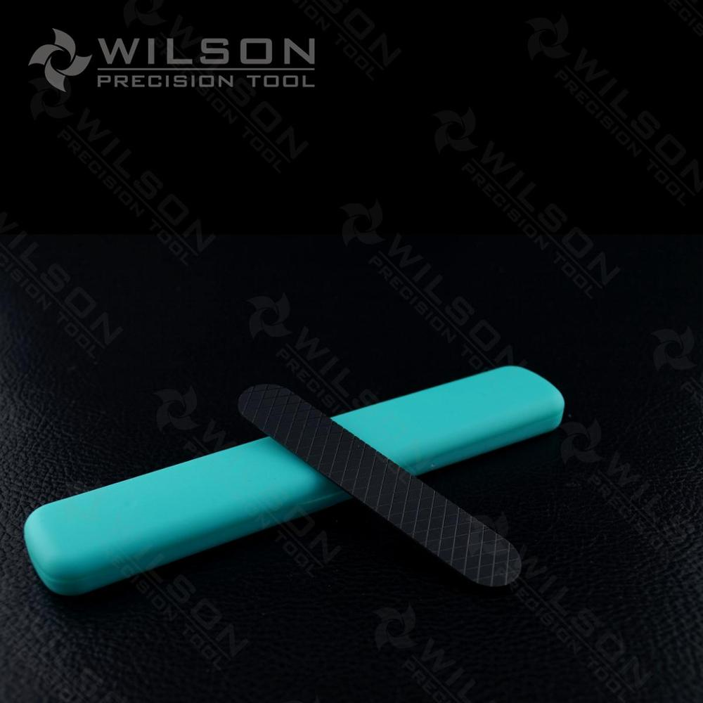 Black Mini Ceramic Nail File - Double Fine XXF(A993242)-Medical zirconia ceramic-WILSON PRECISION TOOL king double krn a5t 5 zirconia ceramic utility knife w sheath red white