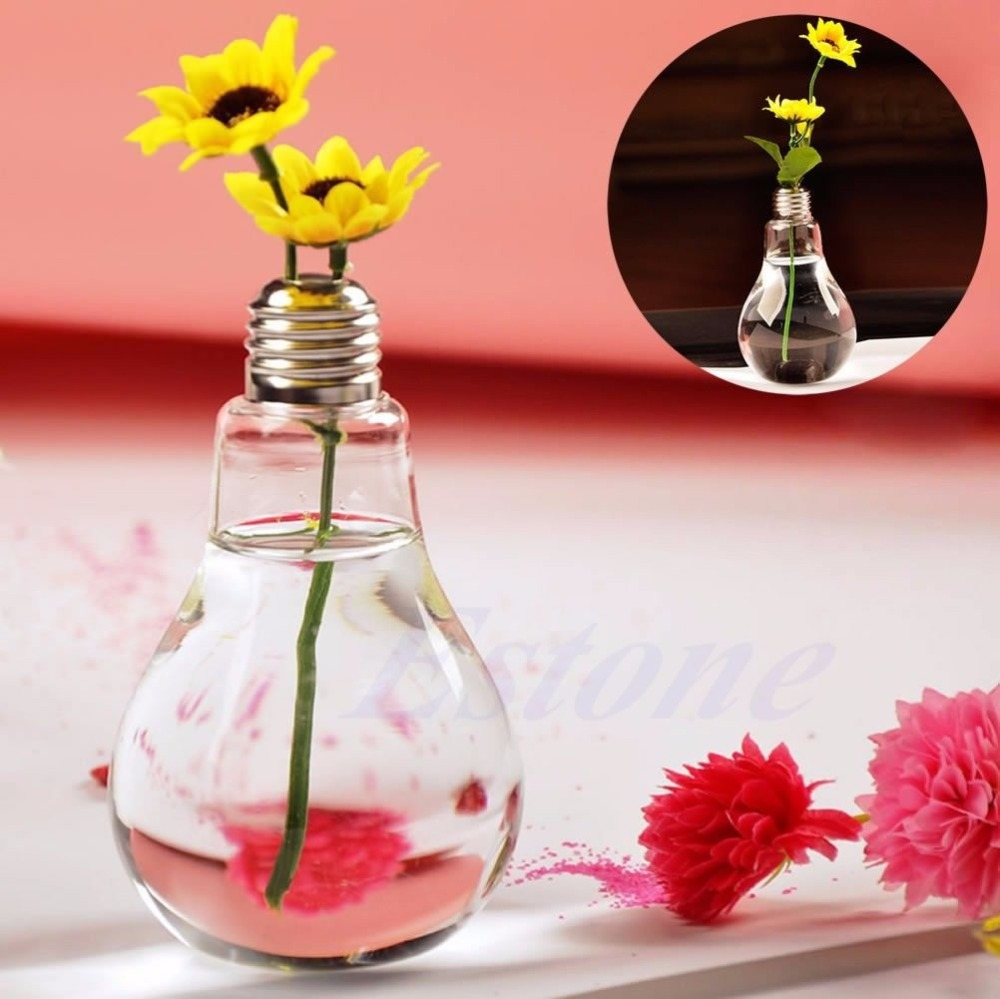 E74 New Stand Bulb Glass Plant Flower Vase Hydroponic Container Pot Home  Decoration 100ML In Vases From Home U0026 Garden On Aliexpress.com   Alibaba  Group