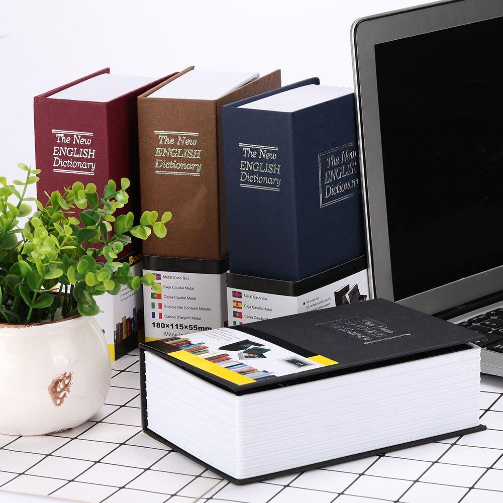 4 цвета, сейф для словаря, ящик для хранения, сейф для книг, безопасный тайник бумага для органайзера, креативный