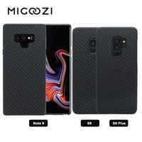 For Samsung Galaxy Note 9 Carbon Fiber Pattern Case Ultra Thin Aramid Fiber Protective Cover For Samsung Galaxy S9 S10e S10 Plus