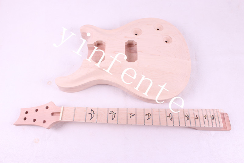 NEW high quality Unfinished electric guitar body + GUITAR neck 18# цена и фото