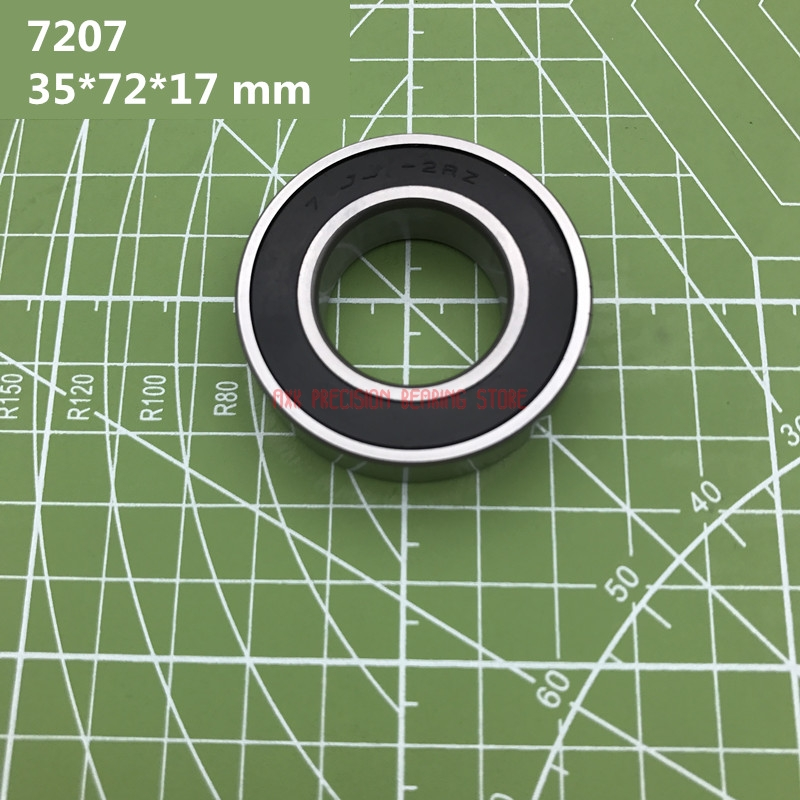 2019 Axk Abec-7 7207 7207c 2rz Hq1 P4 Db A 35*72*17 Mm Sealed Angular Contact Bearings Speed Spindle Cnc Si3n4 Ceramic Ball2019 Axk Abec-7 7207 7207c 2rz Hq1 P4 Db A 35*72*17 Mm Sealed Angular Contact Bearings Speed Spindle Cnc Si3n4 Ceramic Ball