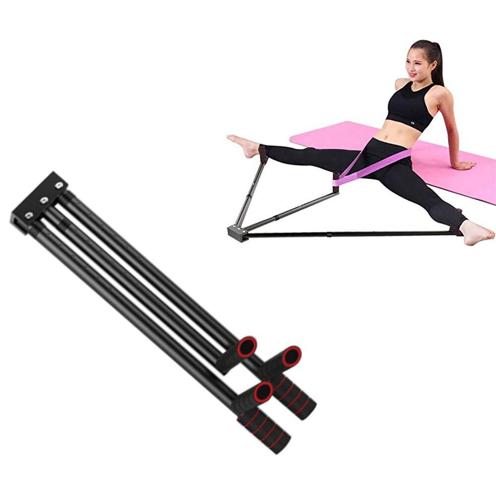 Outil d'entraînement de flexibilité de machine de fente d'extension de civière de fer de jambes de 3 barres pour l'équilibre de ballet