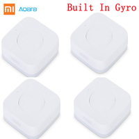 2019 Xiaomi Aqara Smart Wireless Switch Key Built In Gyro Multi-Functional Intelligent Function Work With Android IOS Mijia APP Smart Remote Control