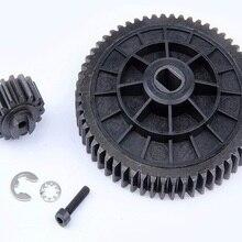 55 T/19 T Металлический Высокоскоростной комплект передач для 1/5 HPI Rovan Baja 5B 5T 5SC King Motor Buggy rc car части газа