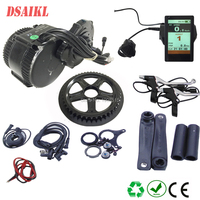 48V 1000W 750W 500W Bafang 8Fun BBSHD BBS02B Mid Drive Motor Conversion Kits For Electric Bike Middle Engine Kit