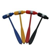 10Pcs/Lot Colorflex Medical Neurological Hammer Percussor Knee Diagnostic Reflex Hammer Surgical Personal Care Reflex Hammer