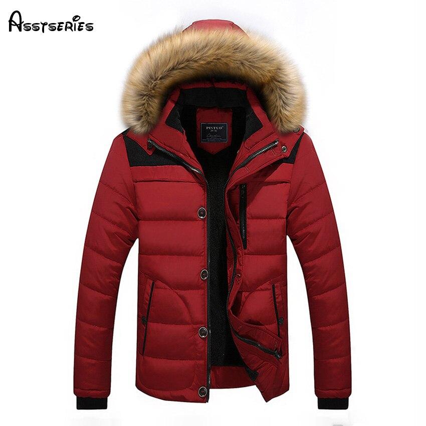 2018 Бесплатная доставка Новинка зимы молодежи качество Теплая куртка-пуховик утолщение куртка пальто Для Мужчин's Зимняя одежда D130