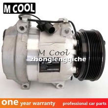 Brand New V5 Air Conditioning Compressor For Ssangyong Rexton 2.7L 2.9L 6651305011 6611304415 6611304915 32483G new ac compressor for ssangyong rexton gab 2 7 2 9 2002 6611304415 6611304915 714956 tsp0155880 92010948