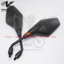 Rear-View-Mirrors Motorbike Acessorios Univeral Black 10mm 8mm Atv-Parts