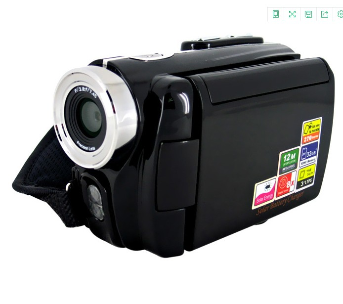 DV-t90+ 3.0 LTPS screen with reversible digital video camera with Electronic shutter good quality