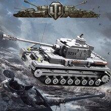 цена на 1193Pcs Military Technic ARMY Large Panzer IV Tank WW2 Building Blocks Sets DIY LegoINGs Bricks Toys For Children Christmas Gift