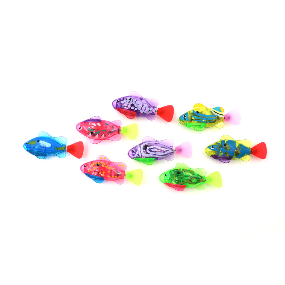 Electronic Toys Luminous Electric Swimming Electronic Swimming Fish Simulation Fish Electronic Fish Pet For Fishing Toys & Hobbies