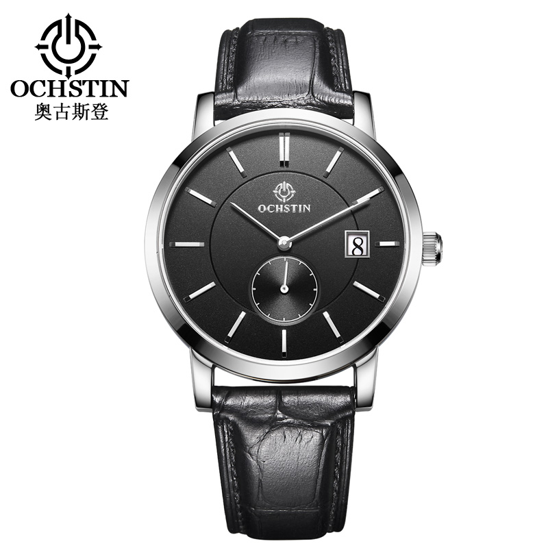 Quartz Watches Mens Watches With Pu Leather Geneva Fashion Men Date Alloy Case Synthetic Leather Analog Quartz Sport Watch Fragrant Aroma