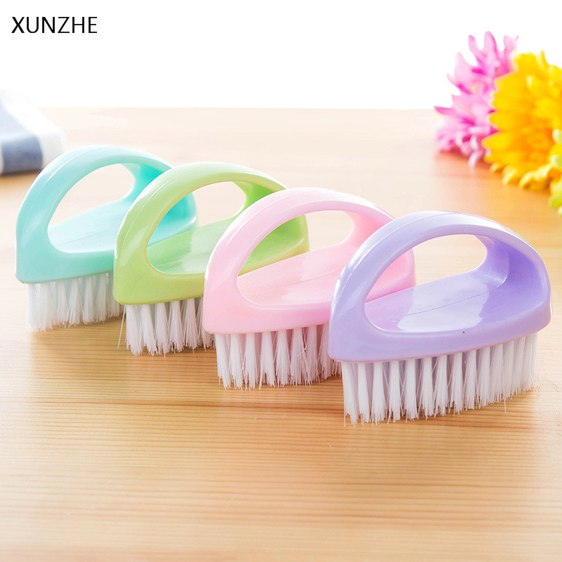 XUNZHE 1PCS Creative Egg Shaped Multi-purpose Brush Portable Shoe Brush Housework Clean Soft Brush Bath Crock Wash Basin Brush
