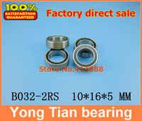 ABEC-5 Z2V2 HPI de alta calidad compatible con salvaje MR1016 B032-2RS B032ZZ 10*16*5mm (rodamientos no estándar)