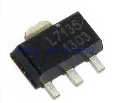 10pcs/lot AMC7135PKFT SOT89 AMC7135 MEL7135 SOT New And Original In Stock