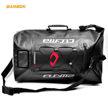 цена 36-55L PVC 100% Waterproof Motorcycle Bag Motorbike Helmet Back Bag Motocross Racing Backpack Travel Luggage Moto Tank Bag онлайн в 2017 году