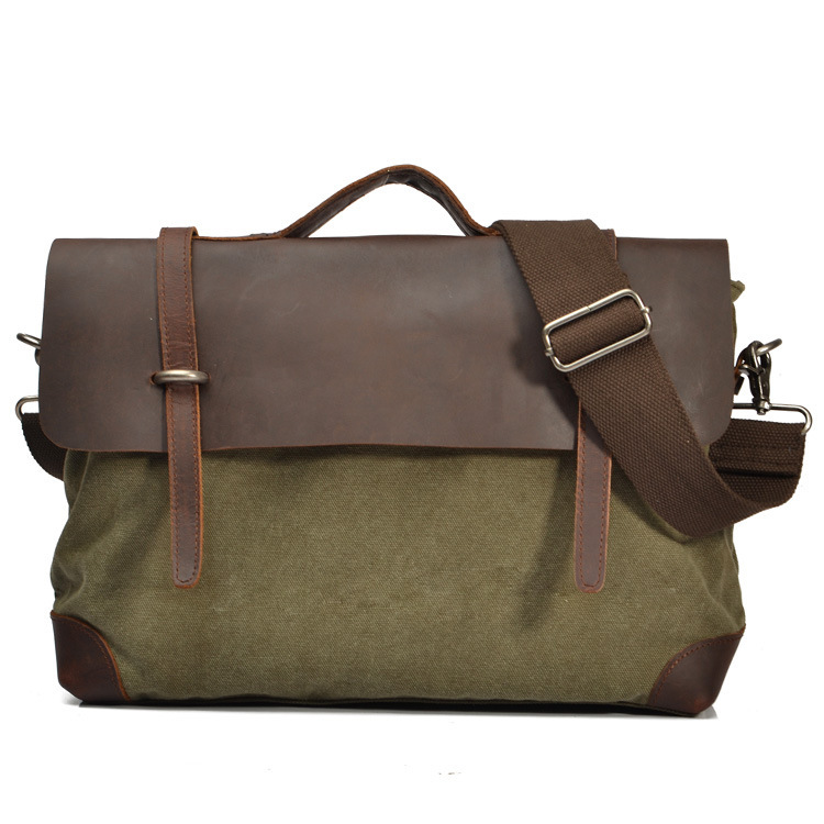 Vintage Crossbody Military Canvas shoulder Men messenger Male Handbag tote Laptop Briefcase Leisure Cover Cross-body bags vintage crossbody bag military canvas shoulder bags men messenger bag men casual handbag tote business briefcase for computer