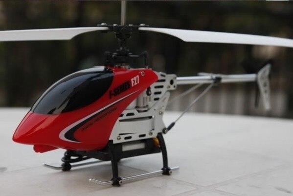 Gratis verzending 28 CM 4CH MJX F27 Gyro metalen mini rc helicopter W/led-verlichting 3D Vlucht P3