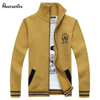 Free shipping The men's spring sweater classic men sweaters warm male Lapel cardigan 80
