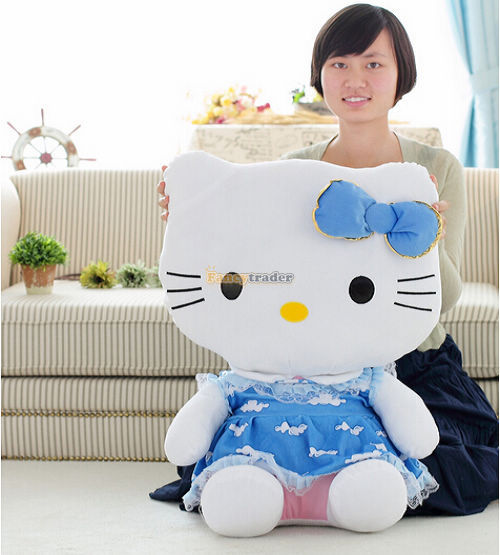 Fancytrader 27\'\' 70cm Giant Plush Stuffed Hello Kitty, 3 Colors Available! Free Shipping FT90157 (9).jpg
